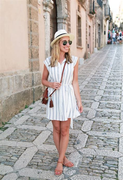 Italian Tourist Summer Style Comfy Travel Outfit