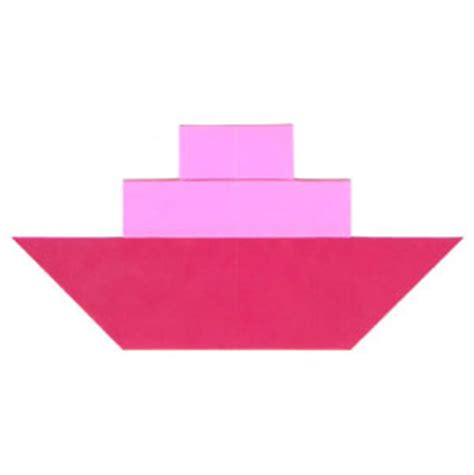 Origami Steamboat by How To Make A Traditional Origami Steamboat With