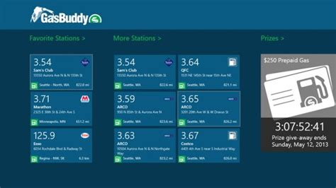 gasbuddy app for windows 8 launched find cheap gas fast neowin