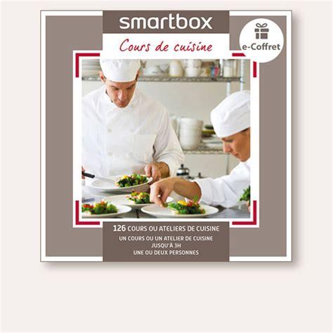 cours de cuisine cadeau coffret cadeau cours de cuisine smartbox