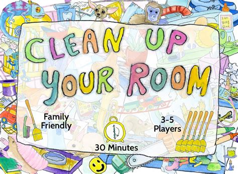 Clean Up Your Room!  Searchlight Games