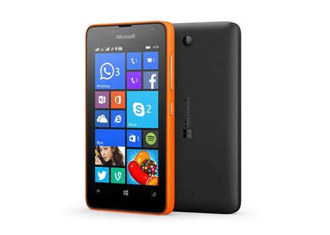 best value smartphone 2015 microsoft introduces lumia 430 in india the most