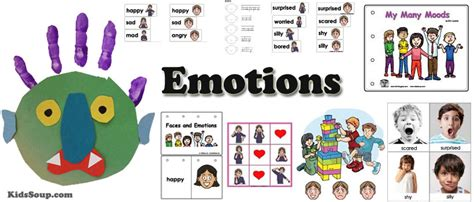 amazing me kidssoup 307 | emotions preschool activities KS