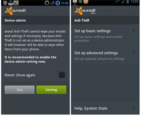 avast mobile security app for android app chilli avast mobile antivirus android