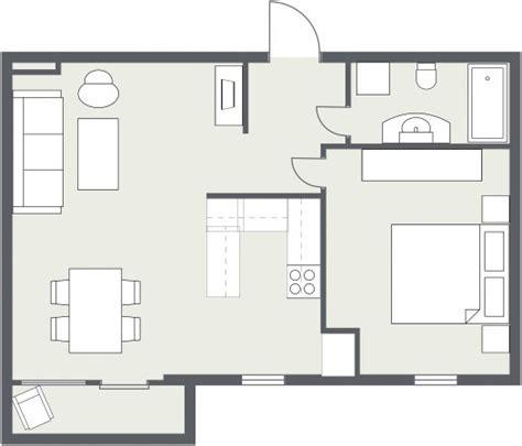 Gray Floor Plan Roomsketcher Blog