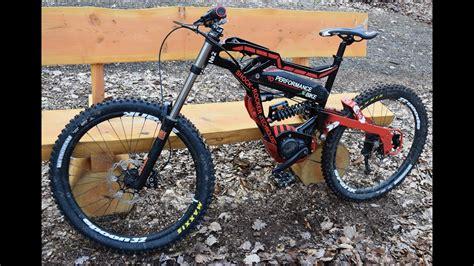 electric downhill mountain bike youtube