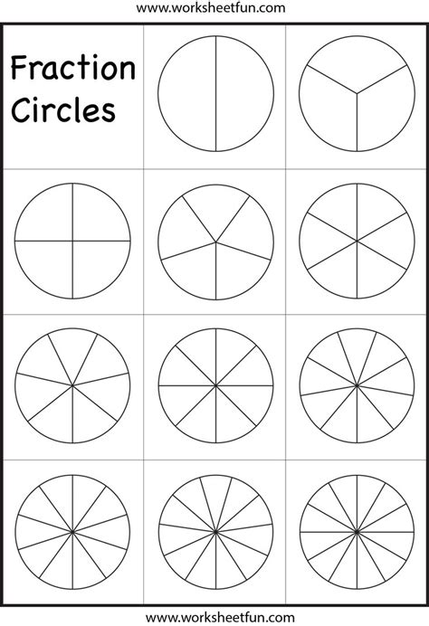 27 best images about fraction worksheets on