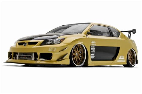 custom scion tc tuner challenge  james lin  sema