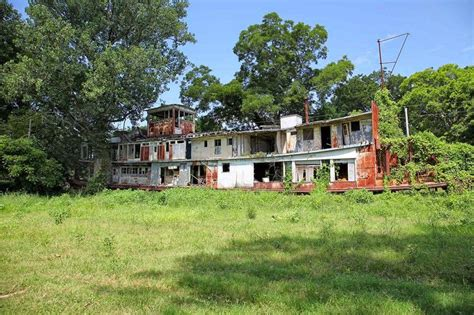 Abandoned steamboat: Southern Lagniappe: The Fate of the ...