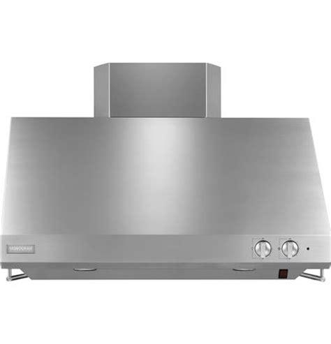 zvssjss monogram  stainless steel professional hood monogram appliances