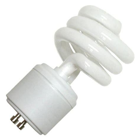 twist and lock light bulb ushio 3000546 cf18clt 2700 gu24 twist style twist and