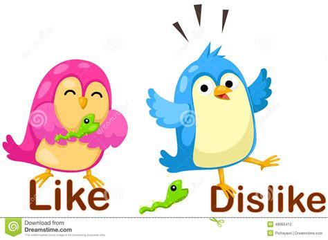 leuke vogels met tegenovergestelde woorden vector