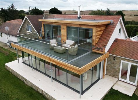 flat roof extension with balcony search roof pinterest roof extension flat roof