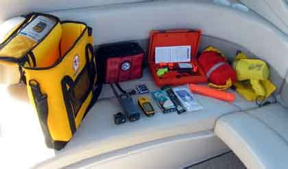 Boat Safety Ditch Bag by Boat Project Create A Ditch Bag