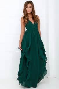 bridesmaid dresses green beautiful green maxi dress prom dress bridesmaid dress 98 00