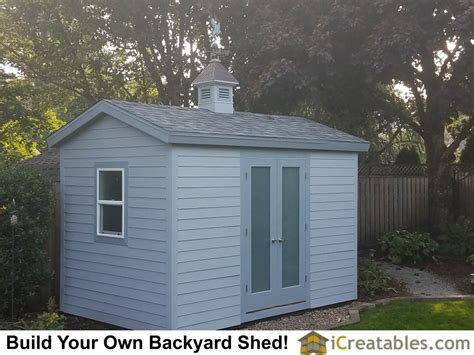 Garden Shed Plans 8x12 by 8x12 Shed Plans Buy Easy To Build Modern Shed Designs
