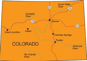 Maps: Colorado State Map View