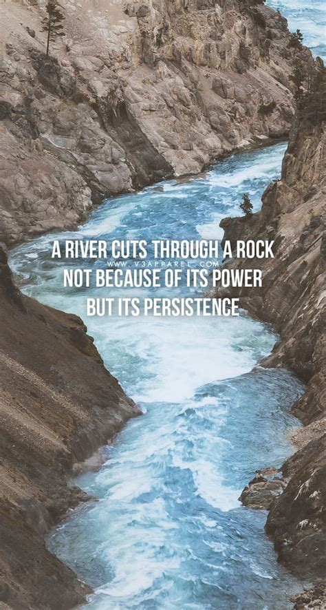river cuts   rock     power