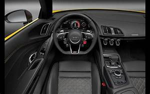 2017 Audi R8 Spyder V10 - Interior - 2 - 1440x900 - Wallpaper