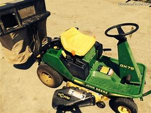 John Deere Gx75 Lawn  U0026 Garden And Commercial Mowing