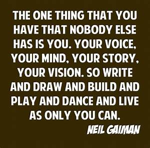 Image Gallery neil gaiman quotes writing