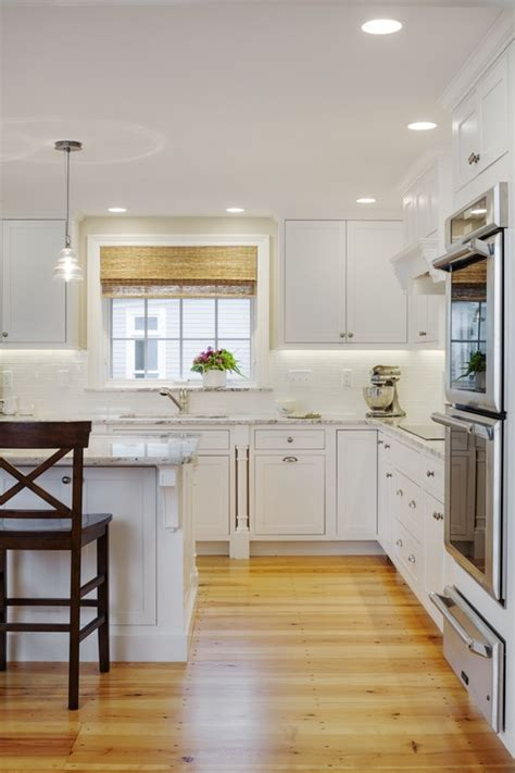 Concord  White Custom Kitchen  Platt Builders