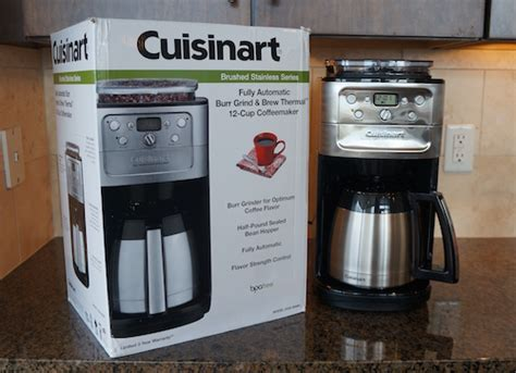 Cuisinart Burr Grind & Brew Thermal 12-cup Automatic Dgb