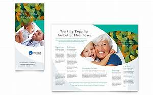 doctor39s office brochure template design With health pamphlet template