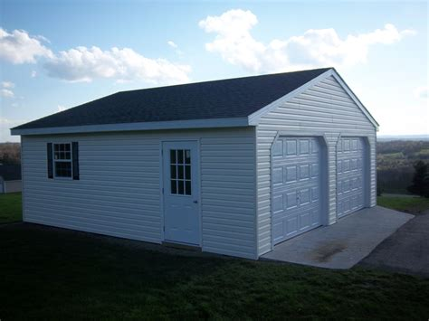 Built On-Site Custom Amish Garages in Oneonta, NY   Amish ...