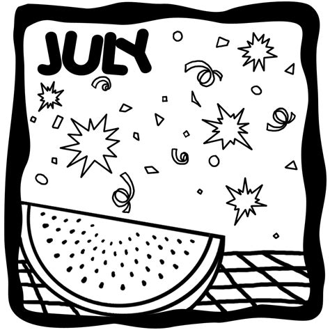 july black and white fireworks clip color fourth of july celebration