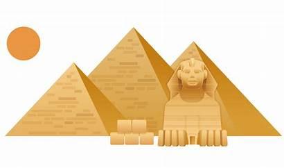 Pyramid Egypt Pyramids Clipart Giza Sphinx Egyptian