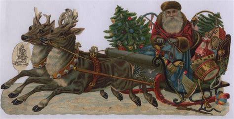 santa claus  reindeer tuckdb ephemera