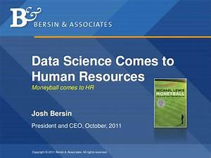 Data Science and Analytics in Human Resources