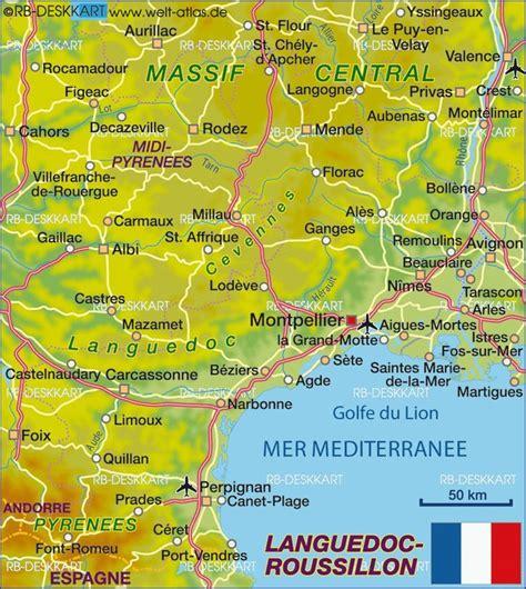 Karte Italien Frankreich