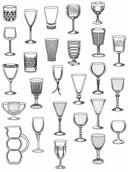Fostoria Glassware Stemware Shere Chamness Realart Planet