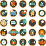 Icons Icon Gamification Flat Powerpoint Ppt Library