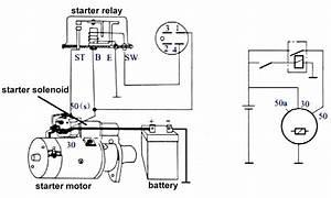 Hitachi Starter Motor Wiring Diagram