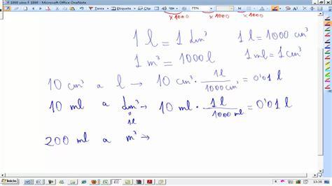 unidades de densidad conversion fisica y quimica 3 186 eso ainte youtube