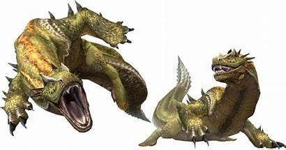 Ludroth Mh3 Render Hunter Monster Leviathan Monsterhunter