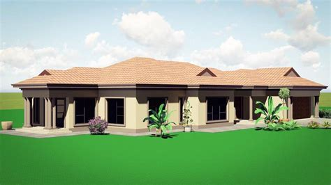Four Bedroom House Plans In South Africa