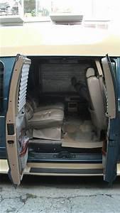 buy used dodge ram conversion van tv dvd 52l v8 sofa bed With conversion van sofa bed