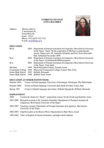 Best Professional Curriculum Vitae Sles by Format Of A Cv Resume 28 Images Best Resume Format