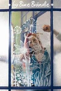 Bine Brändle Vorlagenmappe : modern window painting dandelion dots via etsy ~ Lizthompson.info Haus und Dekorationen