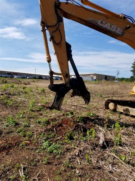 excavator stump splitter
