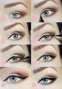 Maquillage Yeux Tuto : le maquillage simple en photos ~ Nature-et-papiers.com Idées de Décoration