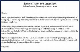 Interview Thank You Letter How To Get A Job Interview Thank You Letters Template Thank You Letter After Interview Template Email Thank You Letter Template Best Business Template