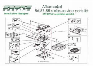 Kab Seating Parts