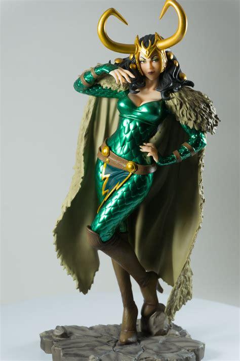 Thor Lady Loki Bishoujo Statue Marvel X Bishoujo 1