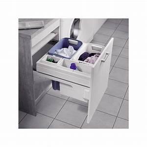 Meuble Panier à Linge : panier linge coulissant pour meuble de 600 mm ~ Teatrodelosmanantiales.com Idées de Décoration