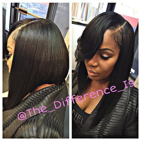 Sew In Hairstyles With No Hair Out by Image Result For Bob Sew In No Leave Out Bobs